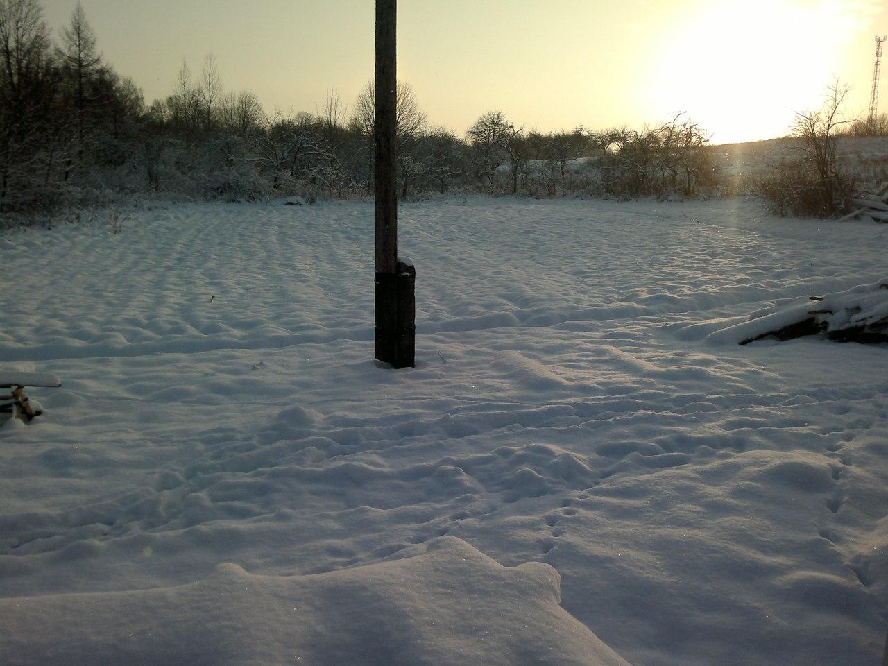 Вот и первый снег_)