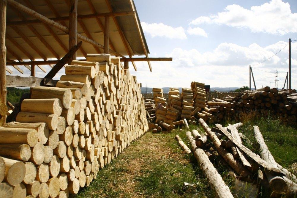 деревянные чурбаны заготовка