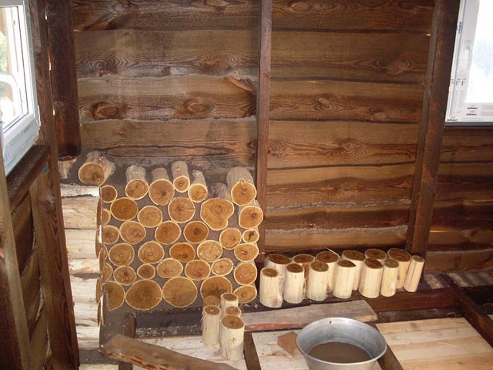 стена из глиночурок