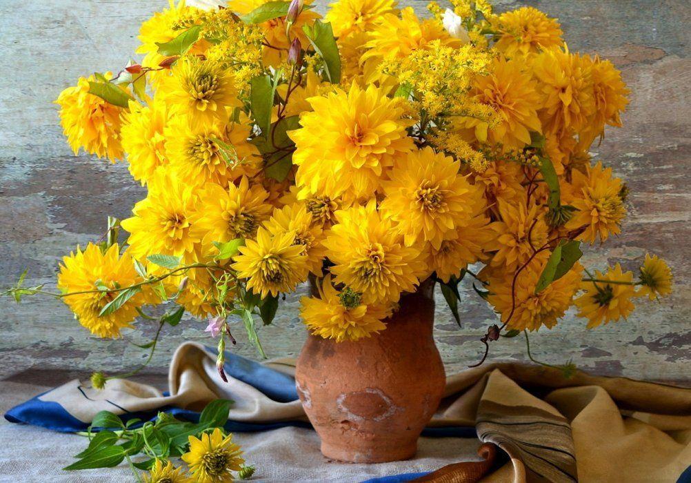 Интересные осенние букеты из живых цветов в кабачке, свадебный букет на рижской