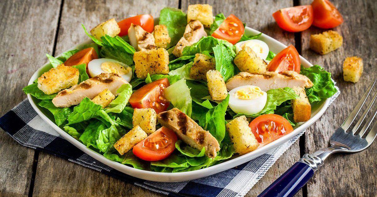 Вкусный простой летний салат