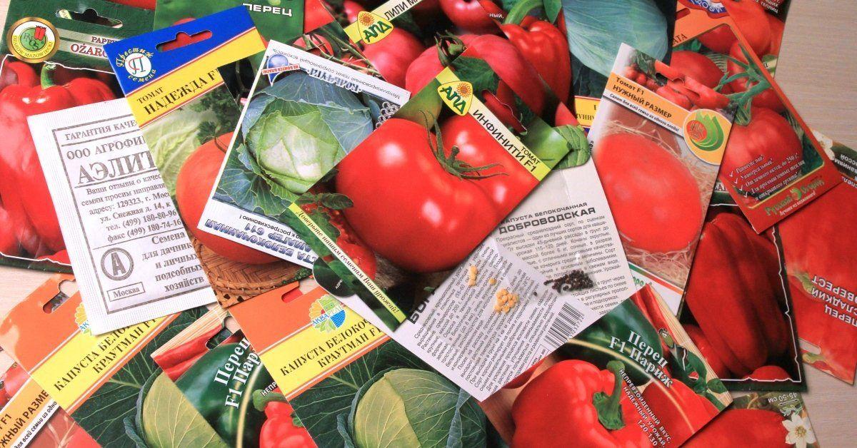 Как правильно выбрать хорошие семена овощей