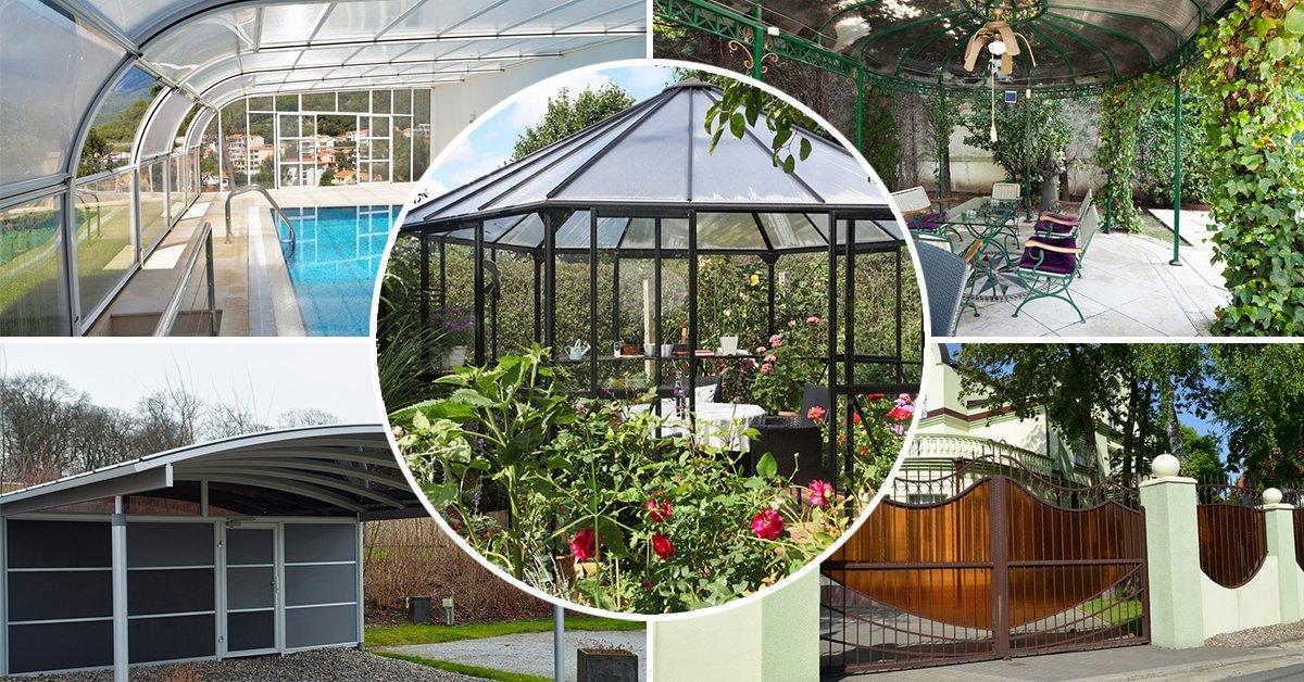 Идеи оригинальных изделий из поликарбоната для декора двора и дома