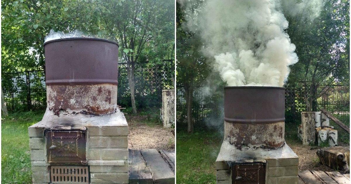 Мусоросжигательная печь для дачи своими руками