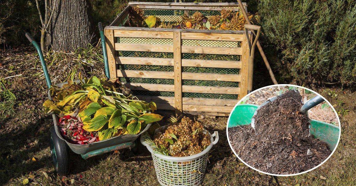 Как правильно закладывать компост