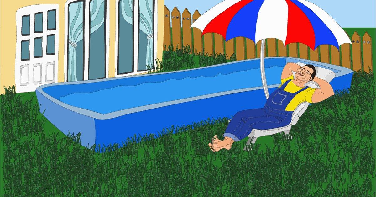 Бассейн на участке – лучшие идеи по выбору формы, размера и стиля оформления бассейна (150 фото)