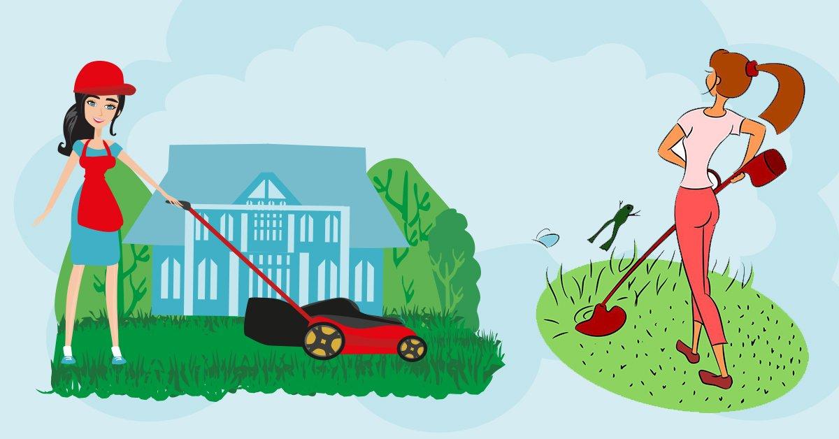 Как выбрать триммер для сада