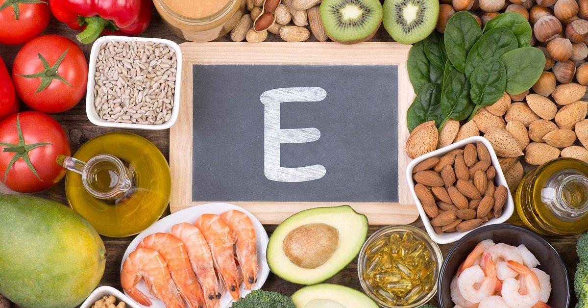 Витамин е в продуктах и его нехватка