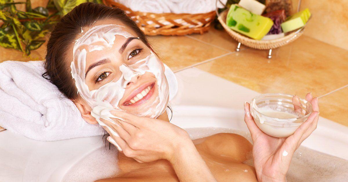 Картофельная маска для лица от морщин для сухой кожи