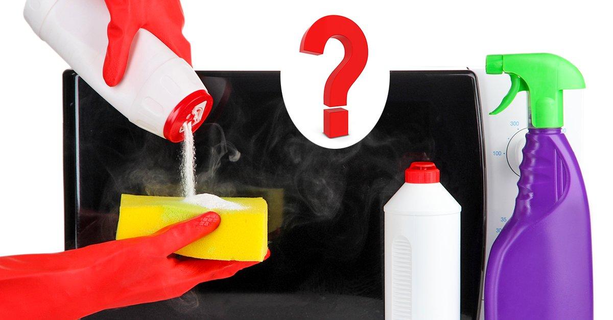 Быстрый способ очистки СВЧ печи