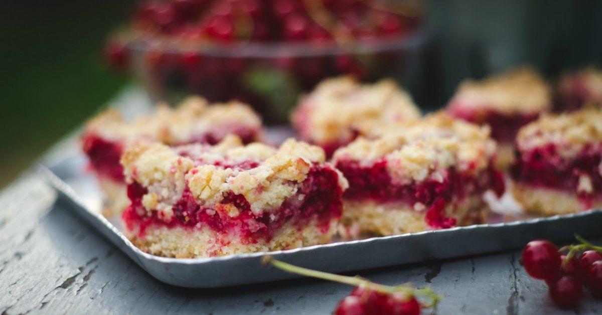 Пирог из красной смородины рецепт с фото