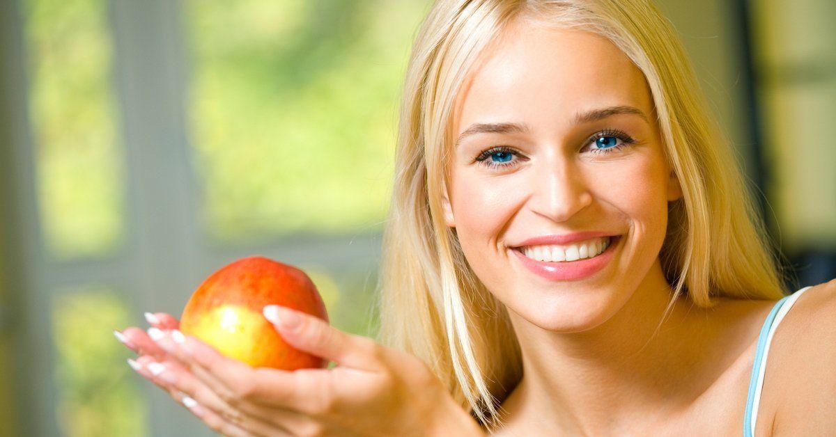 Яблоки полезны для волос