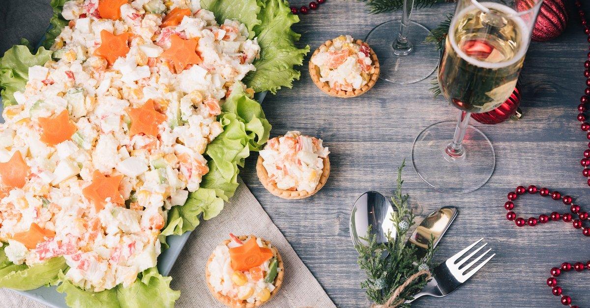 Простые и вкусные закуски к новогоднему столу