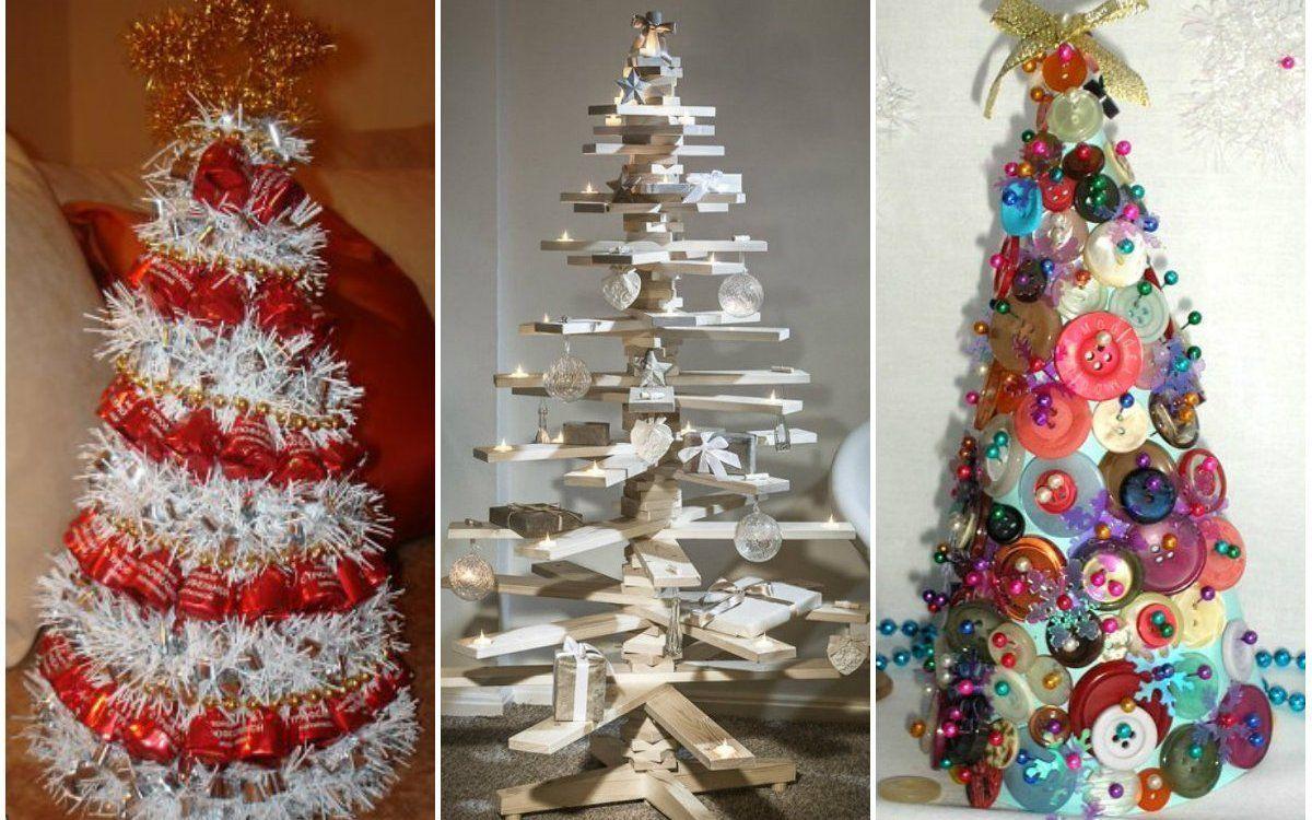Елки из конуса - 17 фото-идей для новогоднего творчества