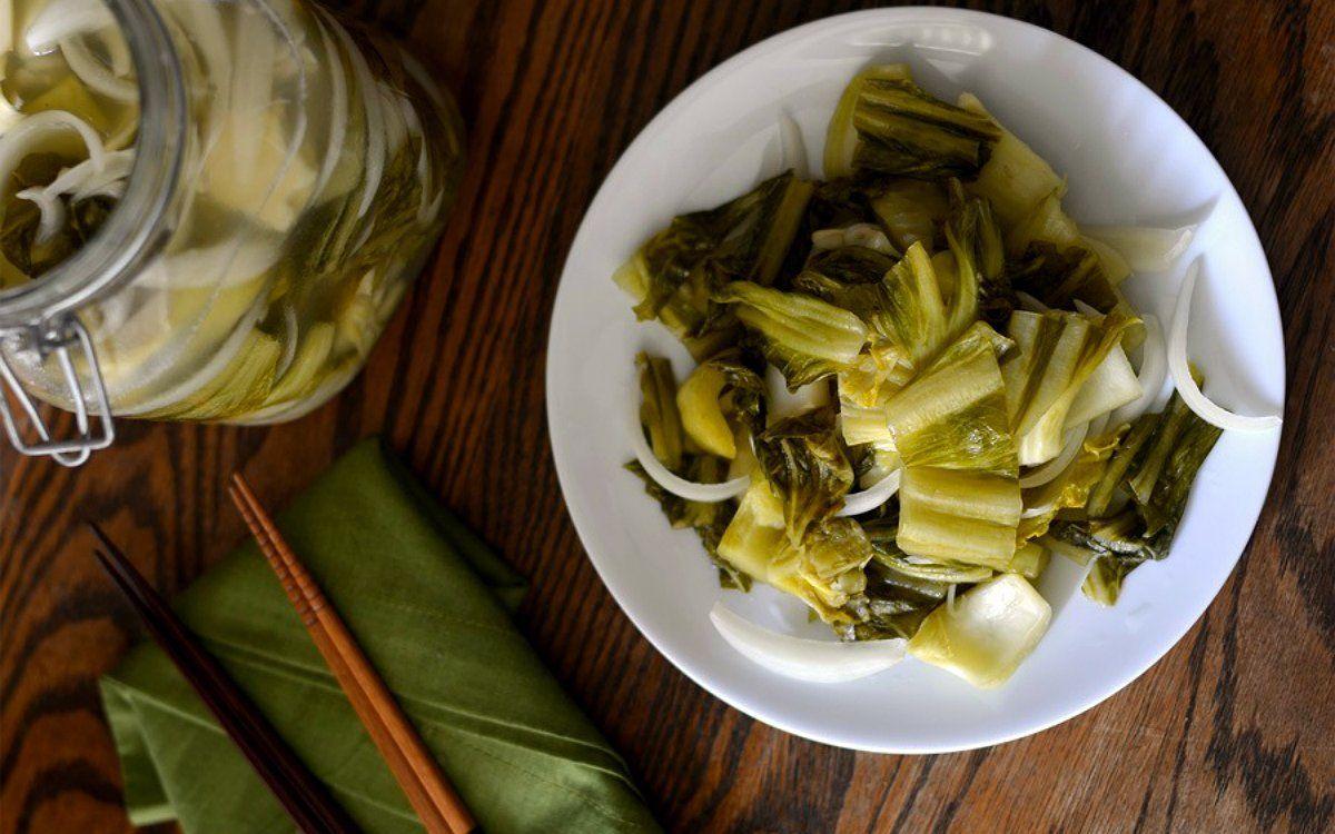 Как приготовить листовую горчицу