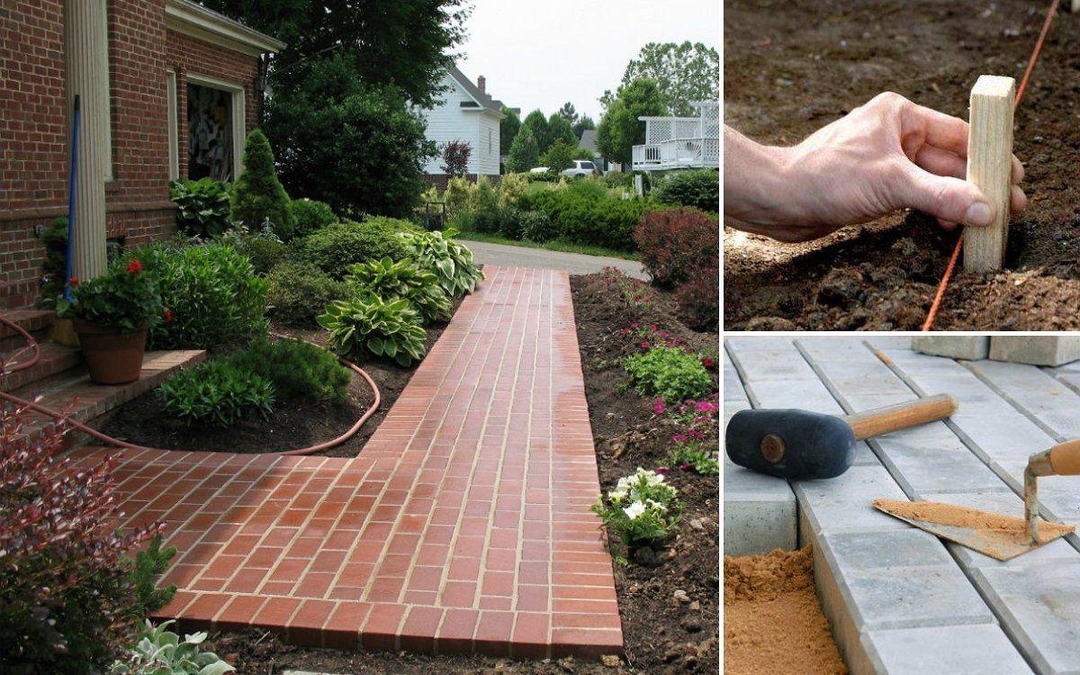 : Садовые дорожки и з тротуарной плитки своими руками