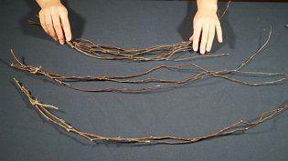 Как размягчить ветки для плетения