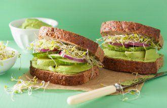 Бутерброды с микрозеленью