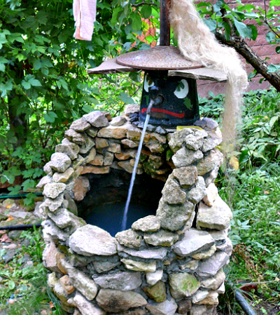 Рукомойник в саду