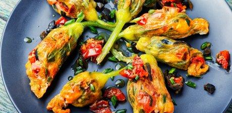 цветы тыквы кабачка рецепты