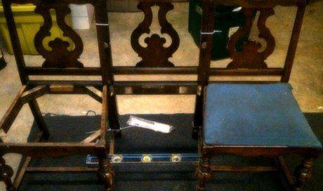каркасы старых стульев фото