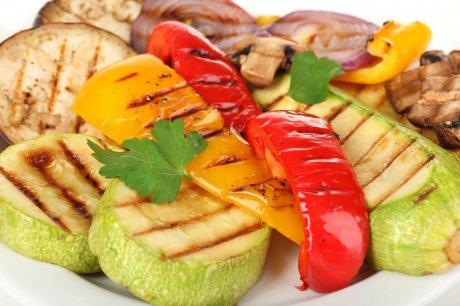 Овощи-гриль к шашлыку