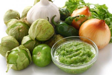 физалис и овощи