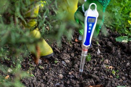 измерение почвы