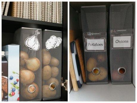 лотки для бумаги, хранение овощей