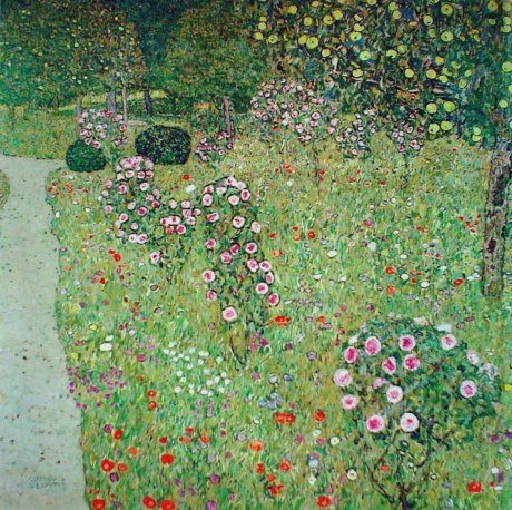 Фруктовый сад с розами. Г. Климт