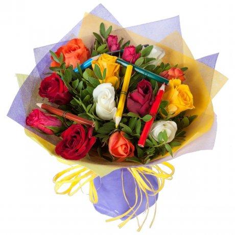 Розы на 1 сентября