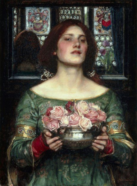 Срывайте розы поскорей. Дж. У. Уотерхаус