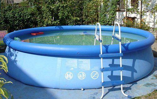 Надувной бассейн из пвх-пленки