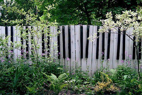 Забор-клавиши