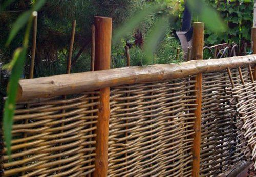 Забор у зоны отдыха