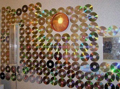 Стена из дисков