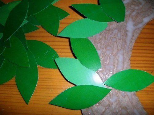 листики для венка