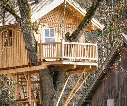 Домик для детей на дереве