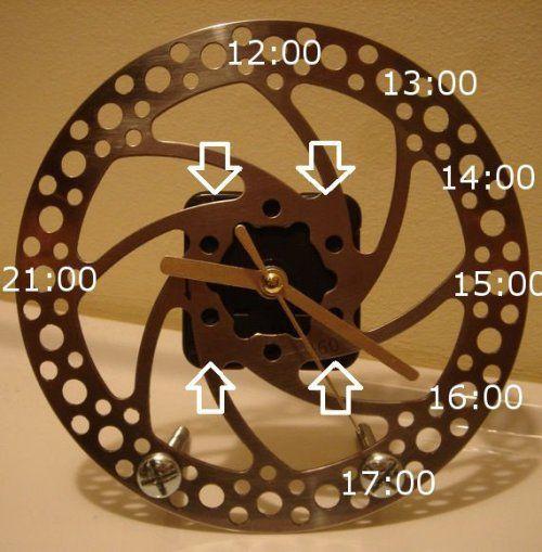 Часы с разметкой