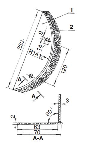 решето измельчителя зерна зернодробилка схема фото