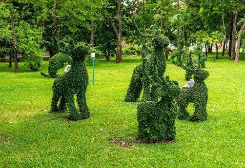 Каркасные скульптуры