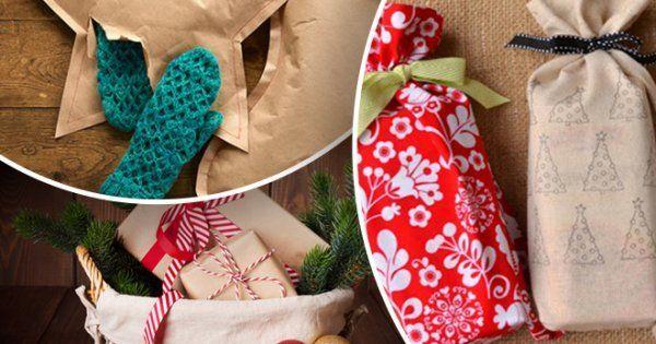 Как упаковать подарки к Новому году оригинально и недорого