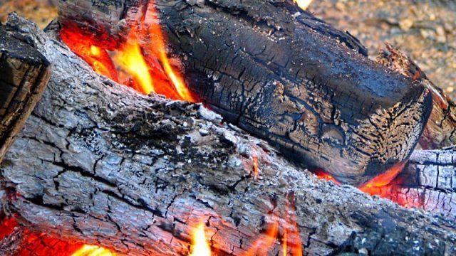 Сжигание дров