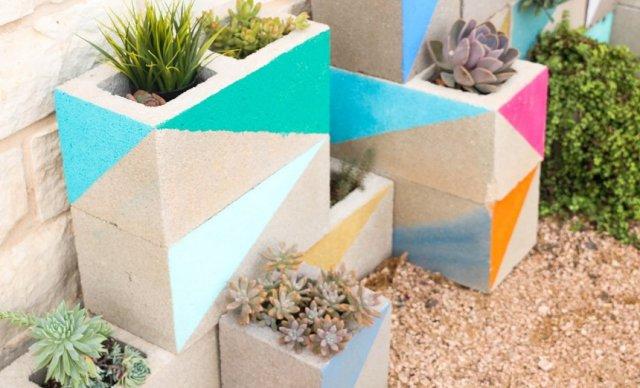 Что делать с оставшимися бетонными блоками – 10 интересных идей