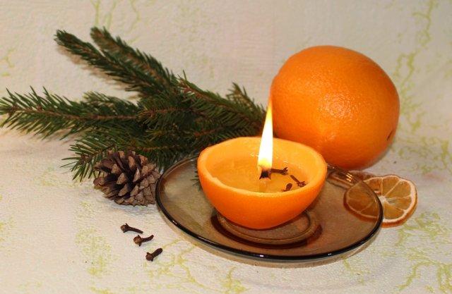 Как сделать свечи