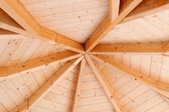 как сделать деревянную беседку своими руками