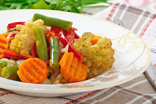 что можно есть на ночь овощи