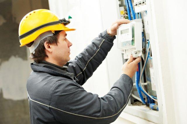 Счетчик электричества установка