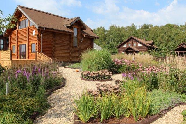 Сад в пейзажном стиле в Калужской области