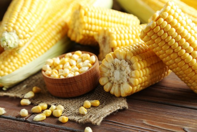 Спелая кукуруза